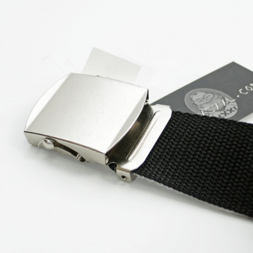 Extra Long Reversible Casual Belt - Black/Grey