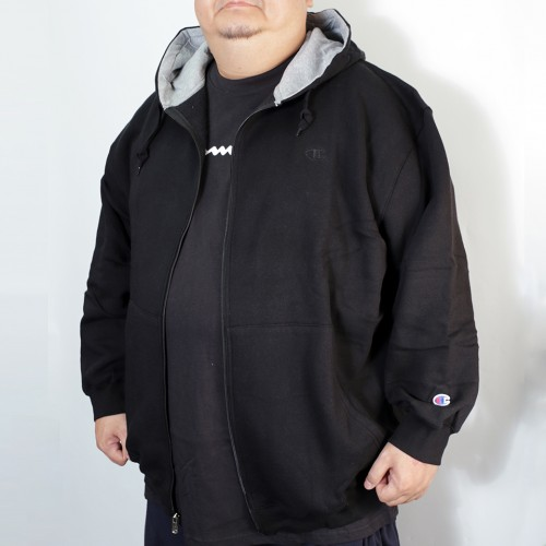 Full Zip L/S Fleece Jacket - Black