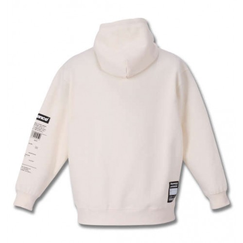 Photo Collage Pullover Hoodie - White