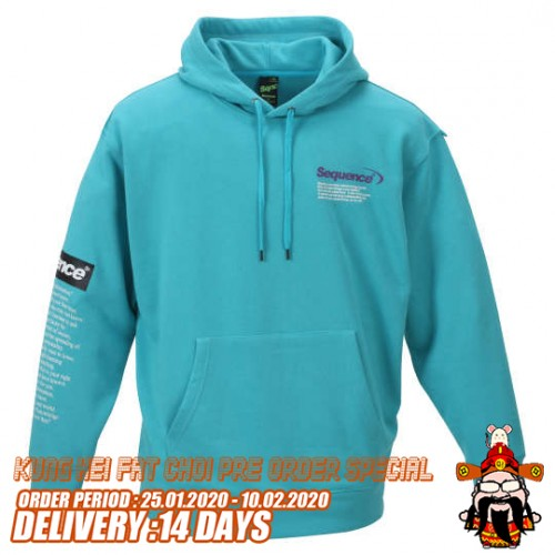 Fashionable Design Pullover Hoodie - Mint
