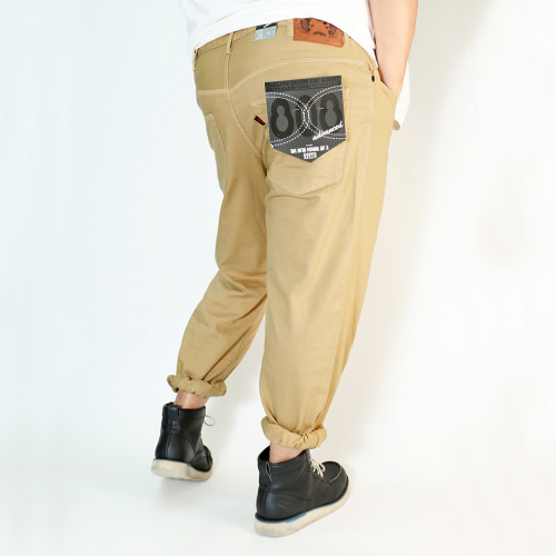 808A-2028 元祖 Ganso Hinshitsu Denim - Golden Sand