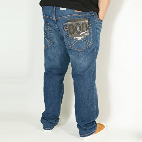 808A 元祖 Ganso Hinshitsu Jeans - Medium Wash