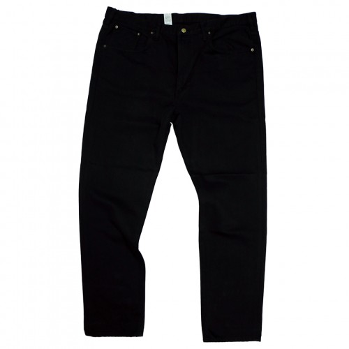503 Grand Denim Regular Straight Jeans - Black