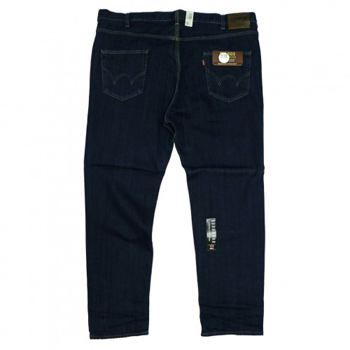 503 Grand Denim Regular Straight Jeans - Navy