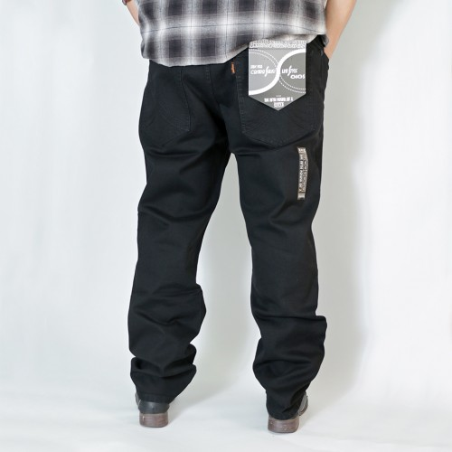 808A Ganso Hinshitsu Inde Series Denim - Black Nite