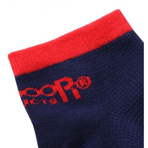Waffle Knit Ankle Socks - Multi