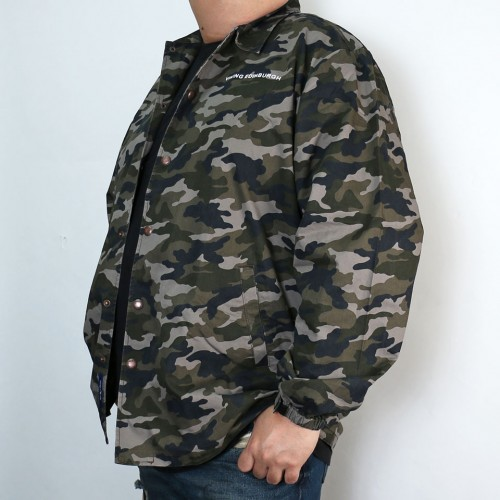 Dark Camo Coach Jacket