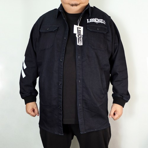 DLLM Denim Deck Jacket - Indigo
