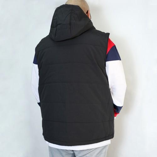 Quilted Vest - Black