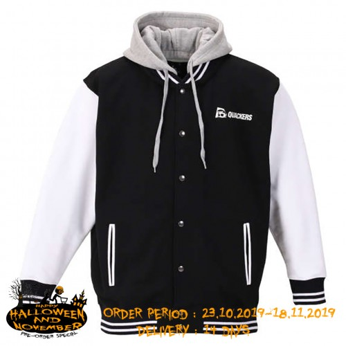 DUCK DUDE Soft Touch Brushed Jacket - Black