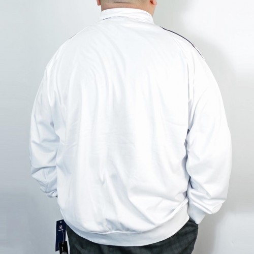 Taping Down Arms Track Jacket - White