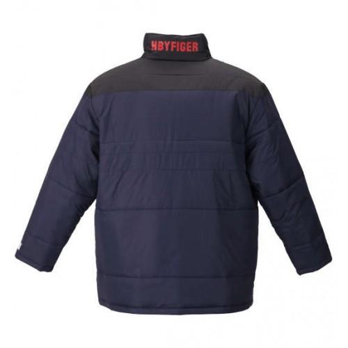 Switch Panel Batting Jacket - Navy/Black