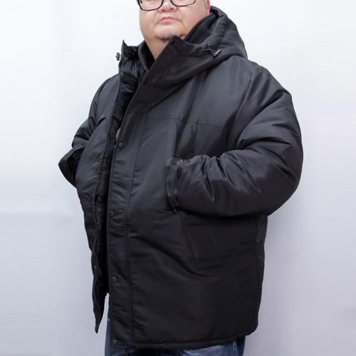 Taslan Batting Jacket - Black