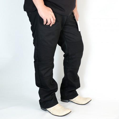 Moto Twill Pant - Black