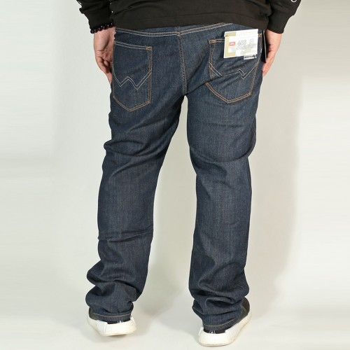 403麻混 Cool Flex Denim - Indigo