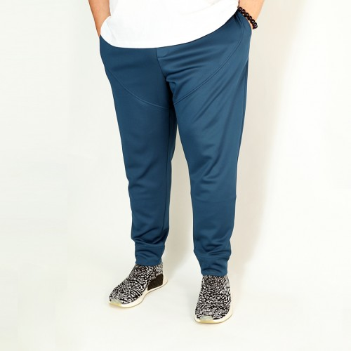 Elastic-Cool Training Joggers - Cyan