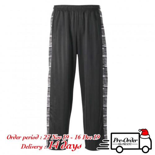 Slash Shadow Line Pants - Black/Grey