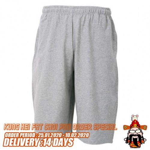 Sweat Half Pants - Grey