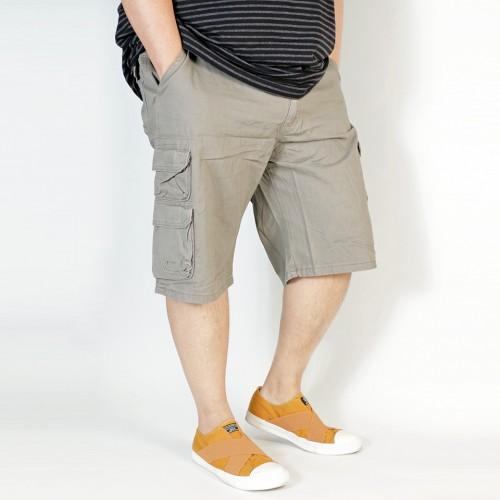Premium Cargo Shorts - Grayish Green