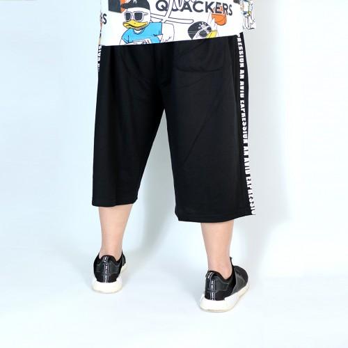 An Avid Expression Shorts - Black