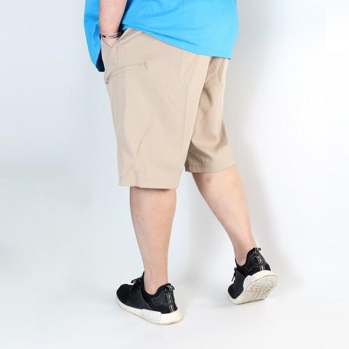 Elastic Utility Shorts - Sand