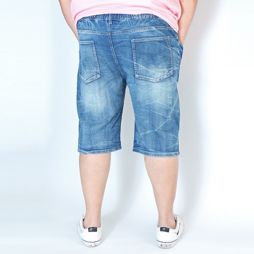 Vintage Denim Shorts - Light Wash