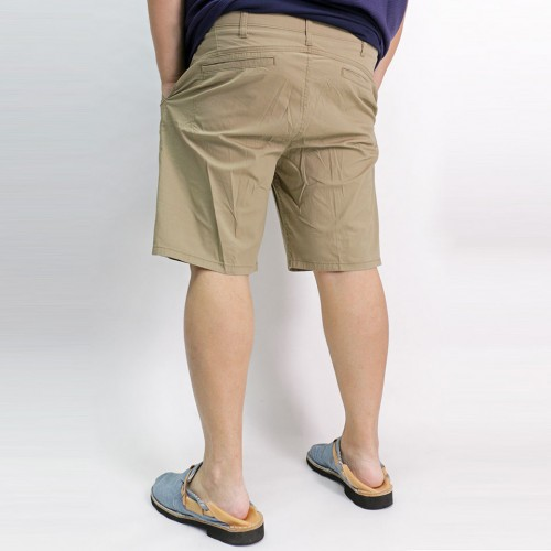 Comfort Flex Flat Shorts - Dark Khaki