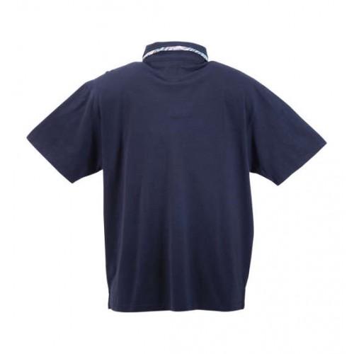 Slab Tenjiku Polo Shirt - Navy