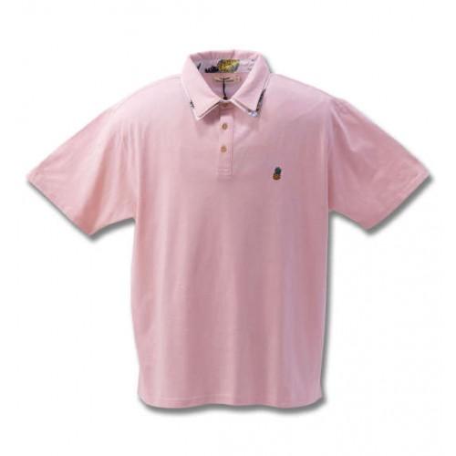 Slab Tenjiku Polo Shirt - Pink