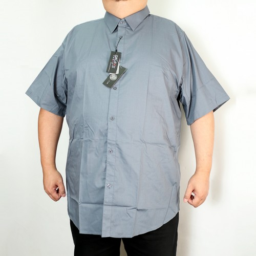 Solid Woven Shirt - Grey