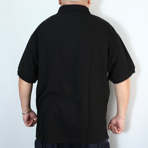 Kanoko Deodorant Tape Polo Shirt - Black