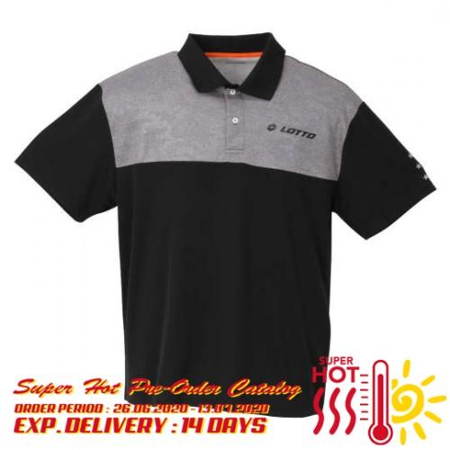Dry Mesh Sport Polo Shirt - Black