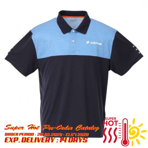 Dry Mesh Sport Polo Shirt - Navy