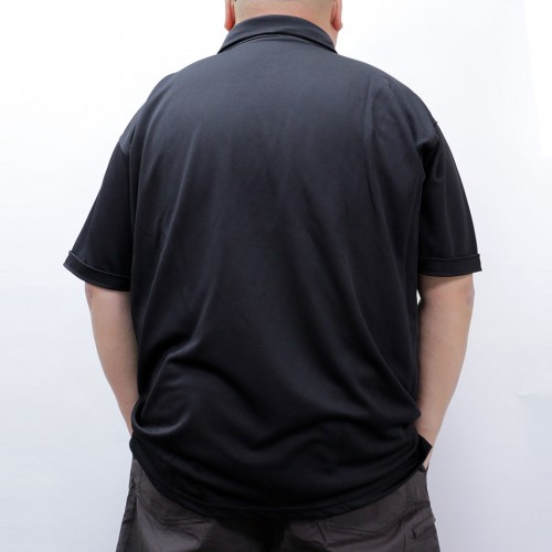 Fast Dry And Cool Polo Shirt - Black