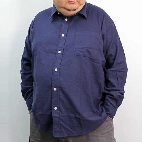 Solid Color Nell Shirt - Navy