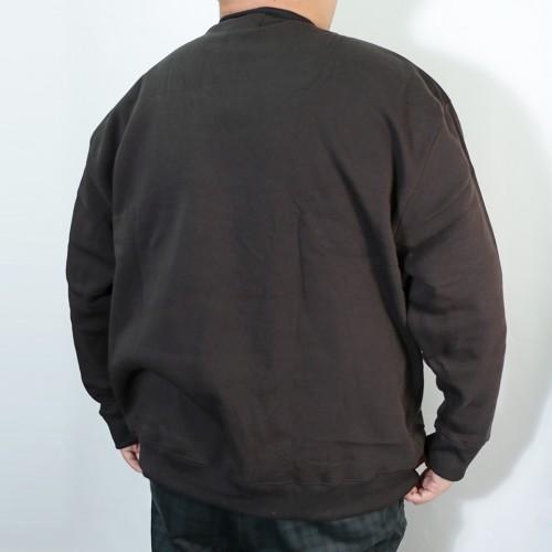 Simple Logo Fleece Crew Trainer - Black