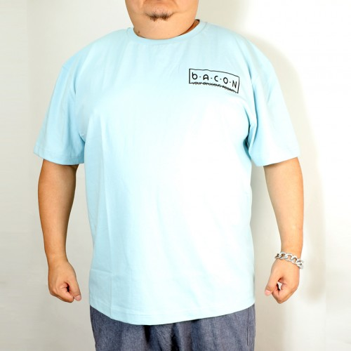 Time To Breakfast Tee - Light Blue