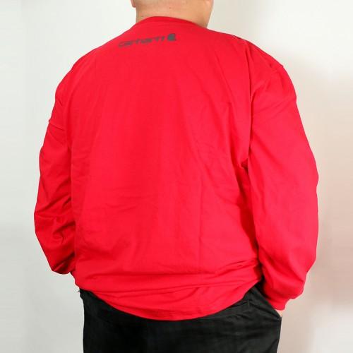 Original Fit Long Sleeve Tee - Red