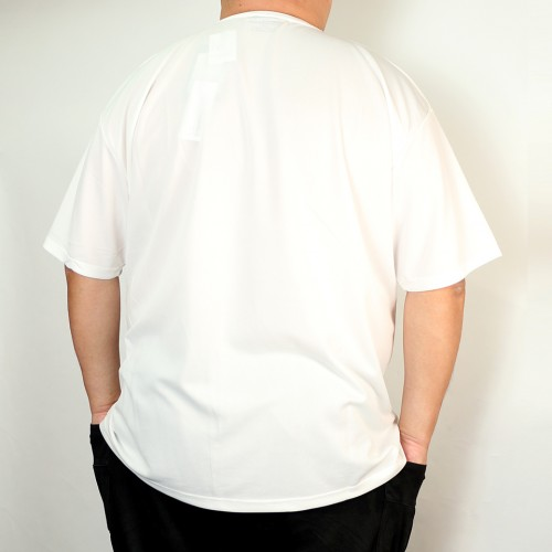 Classic Logo Dry-Mesh Tee - White