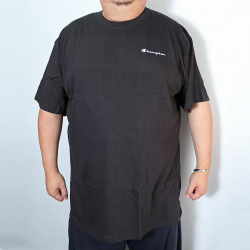 Simple Script Logo Tee - Black