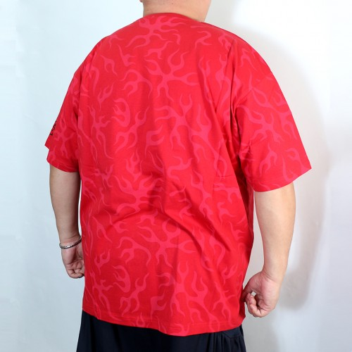 The Ace Of Fire Fists Tee - Red