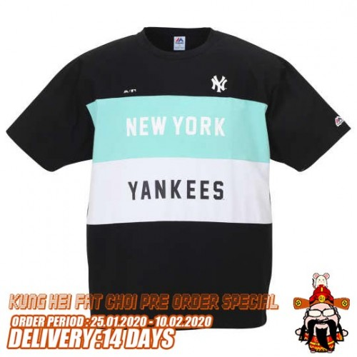 Switching Panel New York Yankees Tee - Black