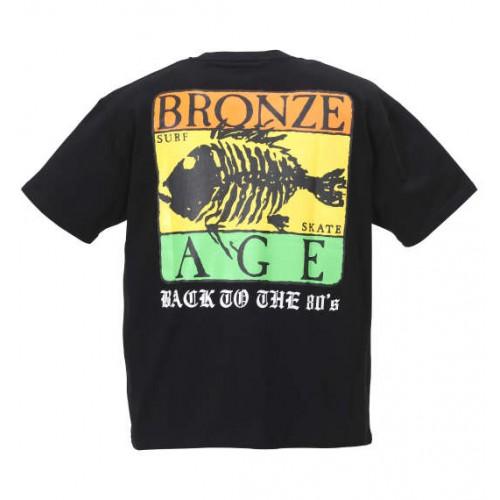 Surf Skate Print Tee - Black