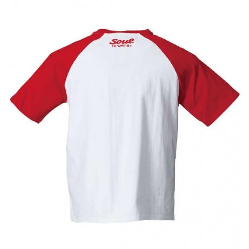 Lion Mark Raglan S/S Tee - White/Red