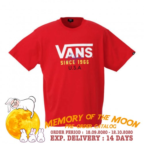 FLV USA Tee - Red