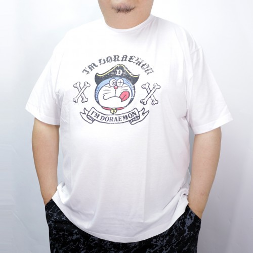 Pirate Doraemon Tee - White