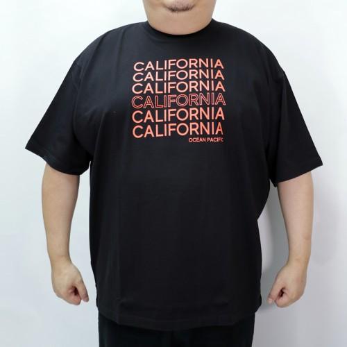California Printed Tee - Black