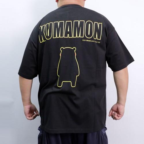 Happy Kumamon Tee - Black