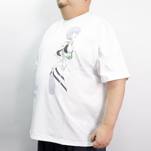 The First Girl Rei Ayanami Tee - White